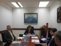 Meeting held with the representatives of Parliamentary Committee on economy, finance and budget of Montenegro
