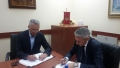 Signed Agreement on Cooperation with the Institute of certified accountants