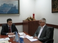 Official Visit of Ambassador Mitja Drobnič, Head of Delegation of EU to Montenegro to the State audit Institution