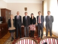 Delegation of the State audit institution of Montenegro on a Business Visit to the State Audit Office of Republic of Croatia