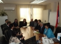 Delegation of the State Audit Institution of Montenegro on a Business Visit to the State Audit Institution of Republic of Serbia