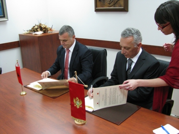 Signature of a Cooperation Agreement with Supreme State Audit Institution of the Republic of Albania